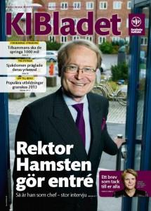 Porträtt Anders Hamsten i KI-bladet
