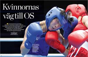 Kvinnornas väg till OS. Forskning & Framsteg nr 7/2016.